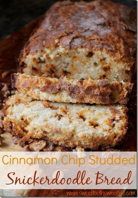 Cinnamon Chip Snickerdoodle Bread