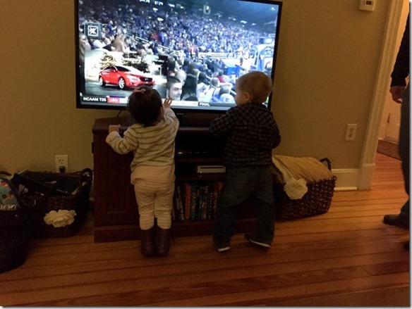 kids at tv