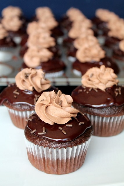 ingredients how to make chocolate mousse cupcakes