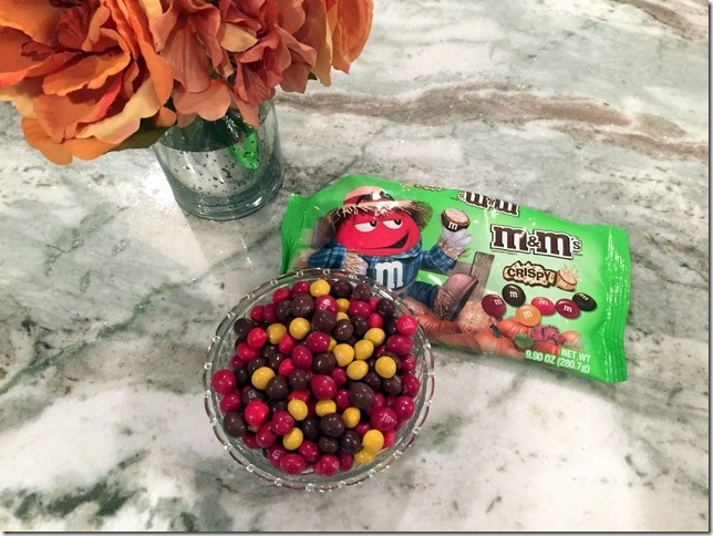 fall crispy m&m's