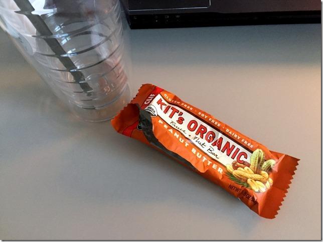 Kit's Organic peanut butter bar