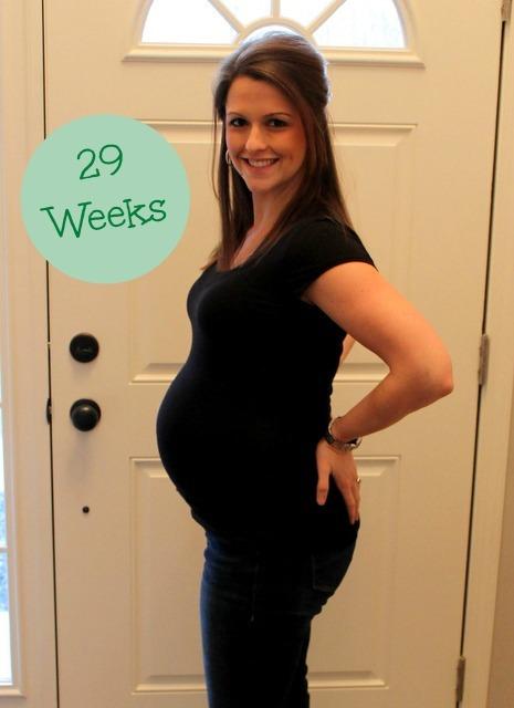 Pregnancy 29 Weeks Baby Bump - Sweet Tooth Sweet Life
