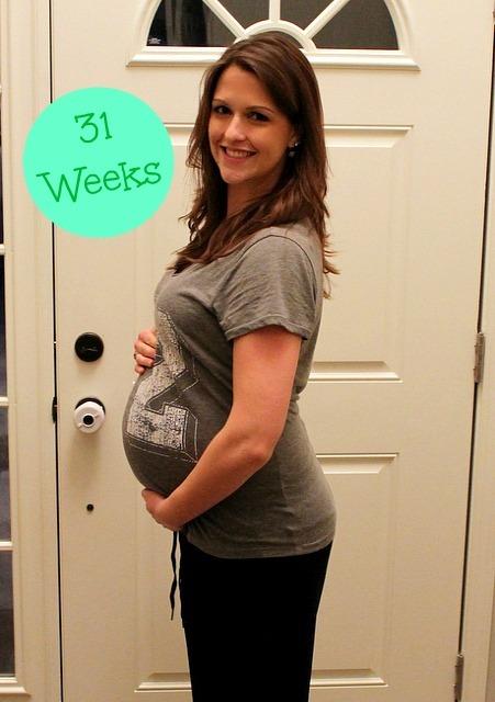 Беременность 30-31 недель все