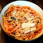 Tomato and Roasted Red Pepper Pasta
