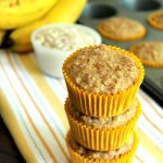 Oatmeal Banana Toddler Muffins