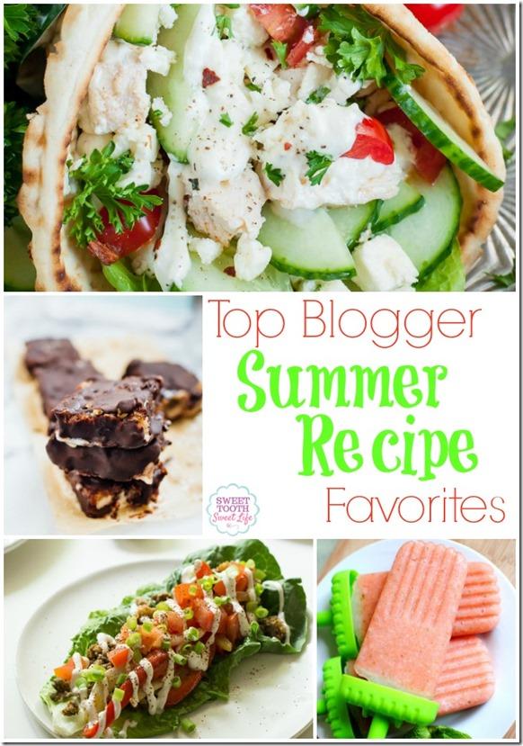 top blogger summer recipe favorites sweet tooth sweet life