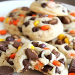 Chocolate Chip Peanut Butter Explosion Cookies