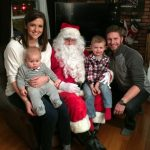Celebrating Birthdays + Santa Encounter #3