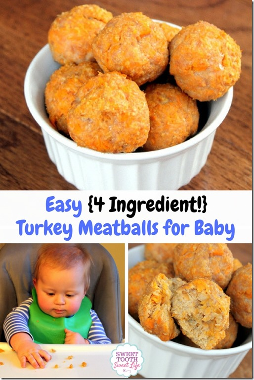 Turkey Meatballs for Baby