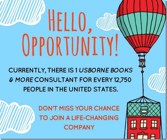 hello opportunity