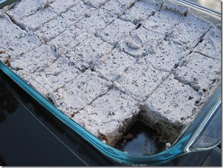 cookies and cream cake mix cookie bars