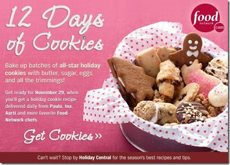 12 days cookies