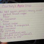 Courtney's Apple Crisp