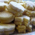 Lemon Curd Filled Butter Cookies