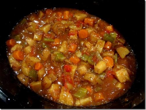 lowfat crockpot veggie stew
