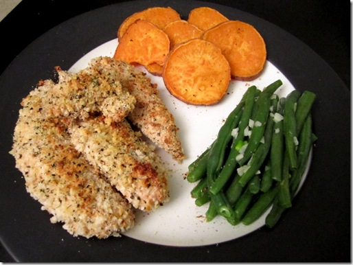 Healthy Baked Parmesan Chicken Tenders