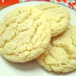 Crackled Sugar Cookies