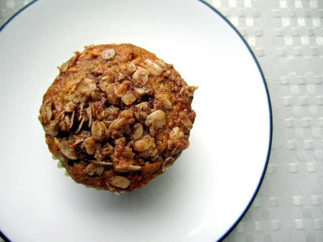 oatmeal raisin banana muffins