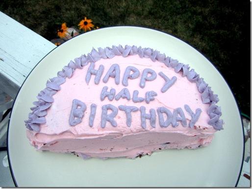 Phenomenal My Half Birthday Surprise Sweet Tooth Sweet Life Personalised Birthday Cards Paralily Jamesorg