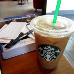 Snacks and Studying at Starbucks