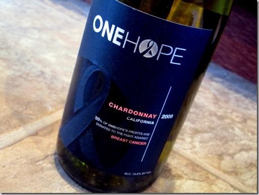 2009 One Hope California Chardonnay