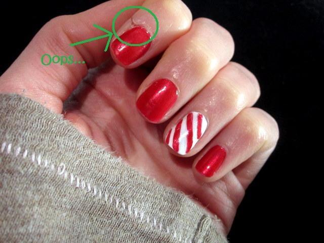 Holiday Nail Art - Sweet Tooth Sweet Life