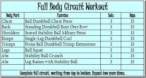 Full Body Circuit Workout Rh Sweettoothsweetlife Com Training Plan For Men Sample