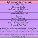 High Intensity Circuit Workout