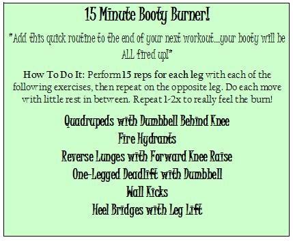 15 minute booty burner