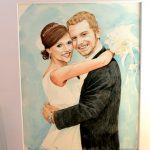 Original Watercolor Portrait Giveaway
