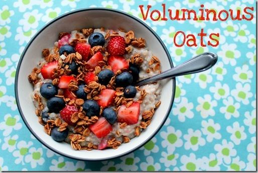 Voluminous Oats