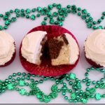 Bailey's Irish Cream Cupcakes with Irish Cream Frosting