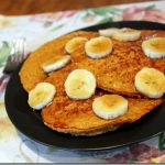 Baked Pumpkin Oatmeal Pancakes