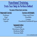 Functional Training: Why It's Important