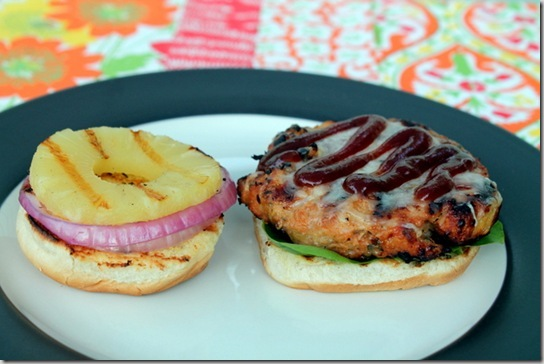 Hawaiian Chicken Burgers (5)