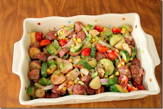 Roasted Potato & Vegetable Salad