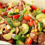 Healthy Roasted Potato and Veggie Salad