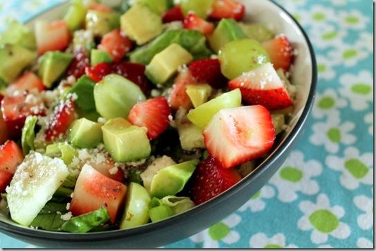 strawberry, feta, and avocado salad (4)