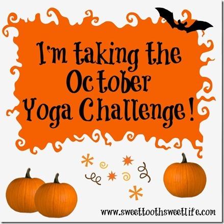 october yoga challenge