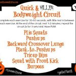 Quick & Killer Bodyweight Circuit