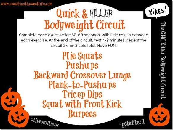 quick and killer bodyweight circuit