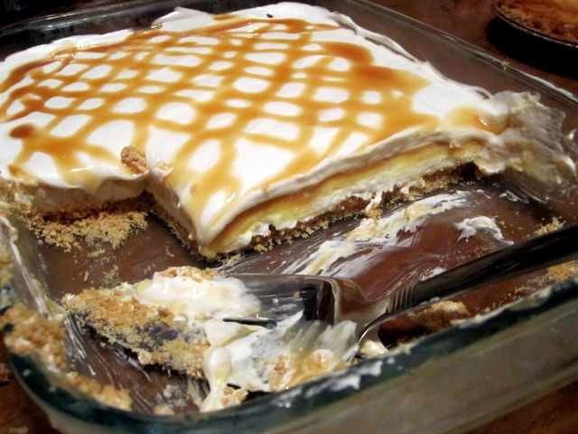 Good Layered Cake Recipes: Creamy Vanilla Butterscotch Pudding Dessert