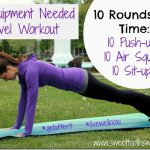 No Equipment Needed Travel Workout