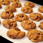 Flourless Milk Chocolate Pretzel Peanut Butter Cookies