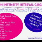 High Intensity Interval Circuit