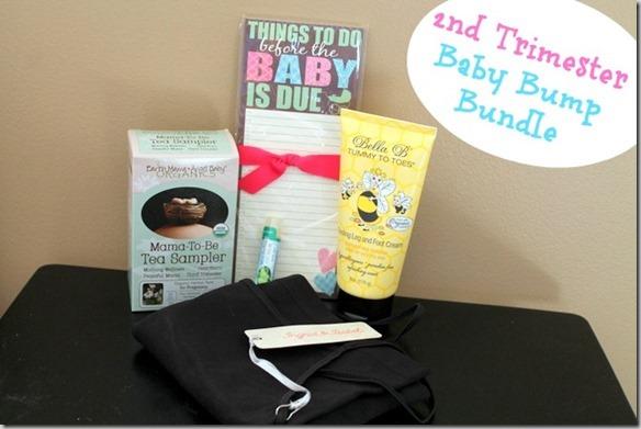 2nd trimester baby bump bundle