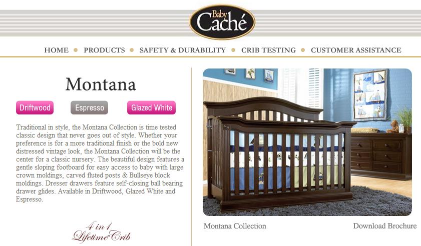 baby cache montana espresso