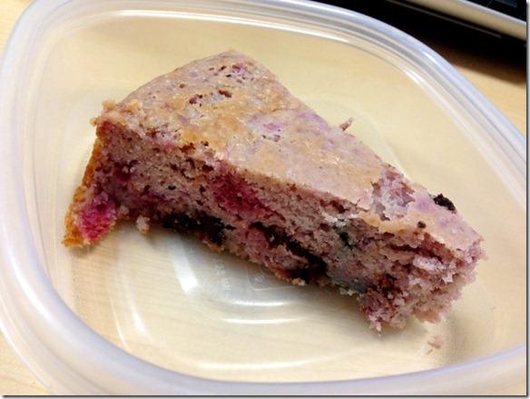 raspberry vanilla coffee cake