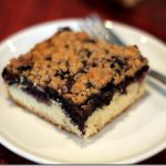 Streusel Topped Wild Blueberry Coffee Cake