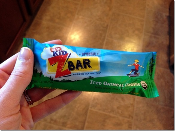 iced oatmeal cookie clif z bar